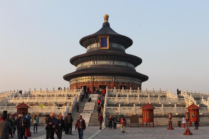 Le temple du ciel à Beijing en Chine
