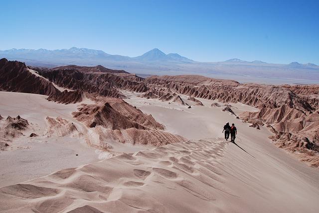 Le désert d'Atacama au nord du Chili