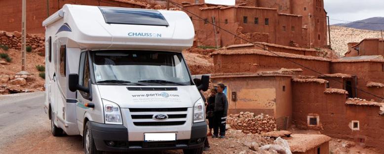 Maroc camping car