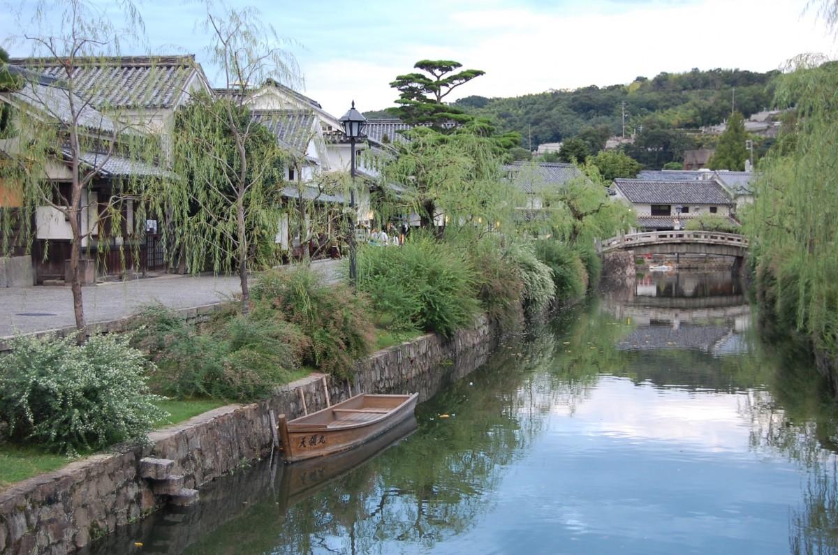 La ville de Kurashiki au Japon